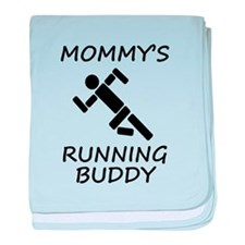 Mommys Running Buddy baby blanket