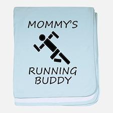 Mommys Running Buddy baby blanket