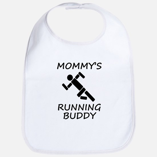 Mommys Running Buddy Bib