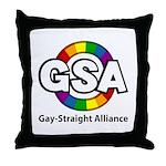 GSA ToonA Throw Pillow