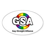 GSA ToonA Oval Sticker