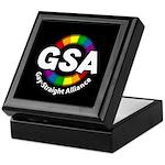 GSA ToonA Black Keepsake Box