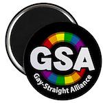 "GSA ToonA Black 2.25"" Magnet (100 pack)"