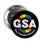 "GSA ToonA Black 2.25"" Button (100 pack)"