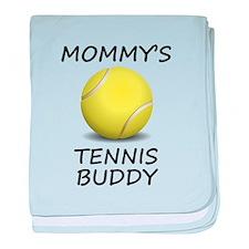 Mommys Tennis Buddy baby blanket