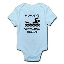 Mommys Swimming Buddy Body Suit