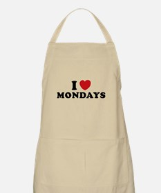 I Love Mondays Apron