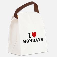 I Love Mondays Canvas Lunch Bag