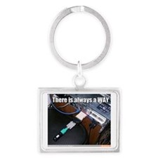There's always a way! Landscape Keychain