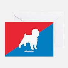 Affenpinscher White Greeting Cards (Pk of 10)