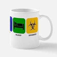 Eat Sleep Zombies Mugs