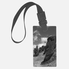 Easter Island Head with a Messag Luggage Tag