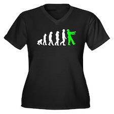 Zombie Evolution Plus Size T-Shirt