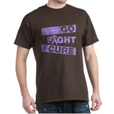 General Cancer Go Fight Cure T-Shirt