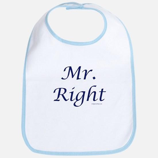 Mr. Right Bib