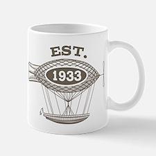 Vintage Birthday Est 1933 Mug