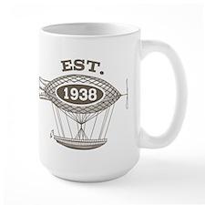Vintage Birthday Est 1938 Mug