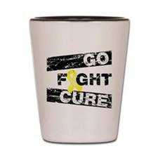 Ewings Sarcoma Go Fight Cure Shot Glass