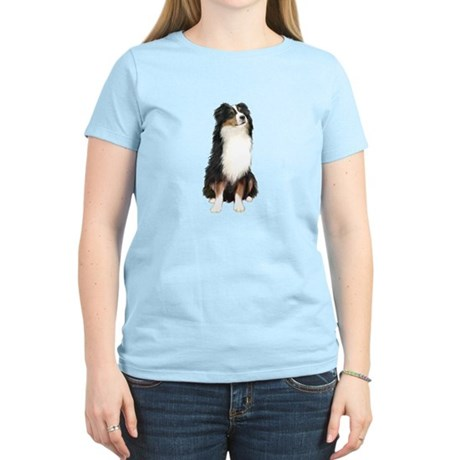Australian Shep (tri) #2 Women's Light T-Shirt