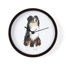 Australian Shep (tri) #2 Wall Clock