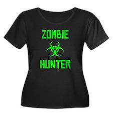 Zombie Hunter Biohazard Plus Size T-Shirt