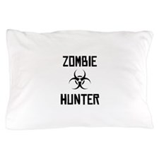 Zombie Hunter Biohazard Pillow Case
