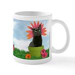 Flower-cat Mug