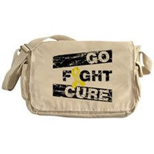 Endometriosis Go Fight Cure Messenger Bag