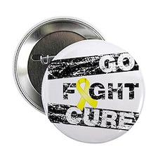 "Endometriosis Go Fight Cure 2.25"" Button"