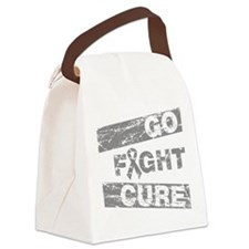Diabetes Go Fight Cure Canvas Lunch Bag