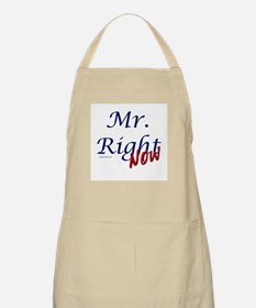 Mr right now BBQ Apron