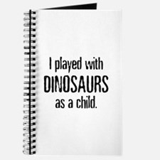 Played with Dinosaurs Journal