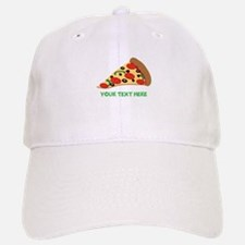 Pizza Lover Personalized Baseball Baseball Cap