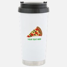Pizza Lover Personalized Travel Mug