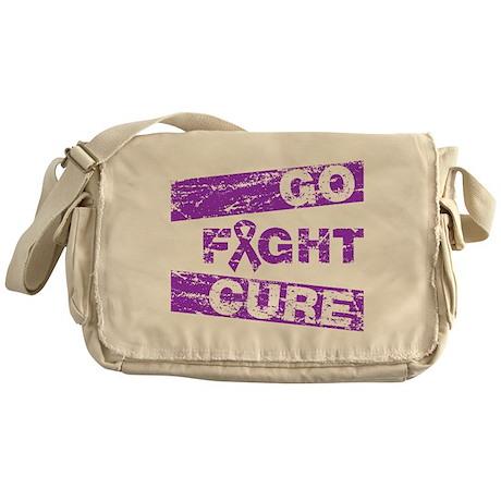 Cystic Fibrosis Go Fight Cure Messenger Bag