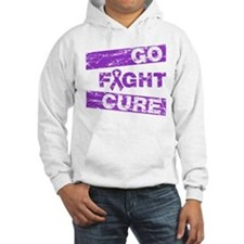 Crohns Disease Go Fight Cure Hoodie