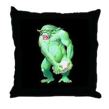 The Troll Throw Pillow