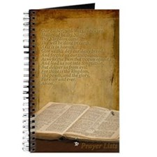 Prayer Lists Lords Prayer Journal