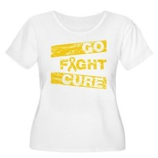Childhood Cancer Go Fight Cure T-Shirt