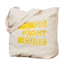Childhood Cancer Go Fight Cure Tote Bag