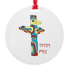 Totem Pole Ornament