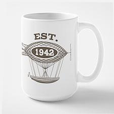 Vintage Birthday Est 1942 Mug