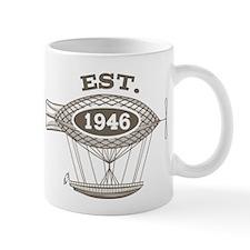 Vintage Birthday Est 1946 Mug