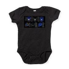 doctor skull Baby Bodysuit