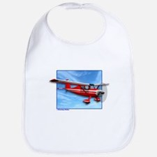 Single Engine Red Airplane Bib