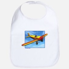 Red and Yellow Small Plane Bib