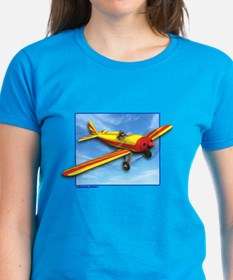 Red and Yellow Small Plane Tee