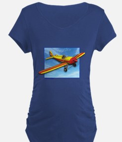 Red and Yellow Small Plane T-Shirt