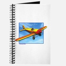Red and Yellow Small Plane Journal