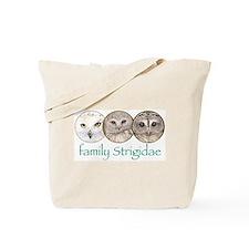 OWLS art, family Strigidae  Tote Bag